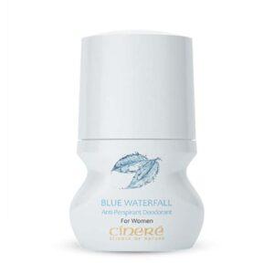 دئودورانت زنانه با رایحه خنک  Blue Waterfall سینره