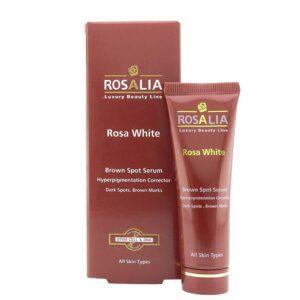 سرم پوست مدل Rosa White رزالیا