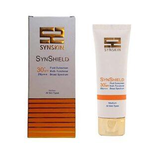 فلوئید ضد آفتاب رنگی ساین شیلد SPF30 ساین اسکین