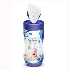 دستمال مرطوب آلوورا پاک کننده کودک  پنبه ریز